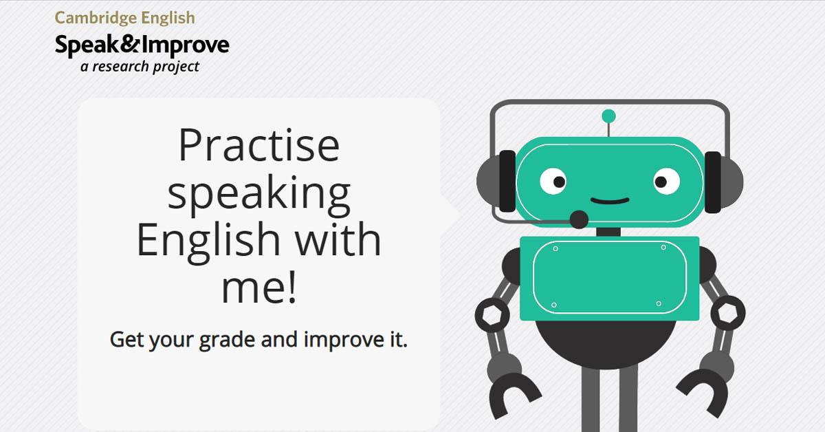 Speak and improve te ayuda a mejorar tu speaking